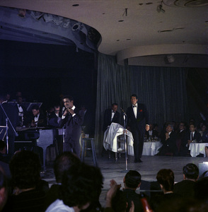 Frank Sinatra, Dean Martin and Sammy Davis Jr. performingcirca 1960 © 1978 Ted Allan - Image 0337_2588