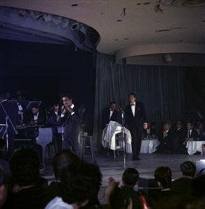 Frank Sinatra, Dean Martin and Sammy Davis Jr. performingcirca 1960 © 1978 Ted Allan - Image 0337_2588