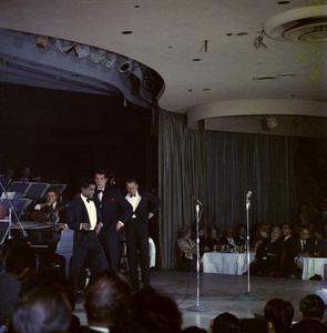 Frank Sinatra, Dean Martin and Sammy Davis Jr. performingcirca 1960 © 1978 Ted Allan - Image 0337_2590