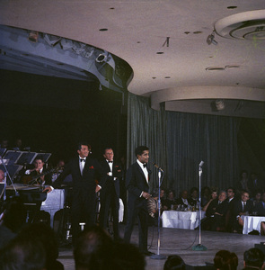 Frank Sinatra, Dean Martin and Sammy Davis Jr. performingcirca 1960 © 1978 Ted Allan - Image 0337_2591