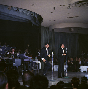 Frank Sinatra, Dean Martin and Sammy Davis Jr. performingcirca 1960 © 1978 Ted Allan - Image 0337_2592