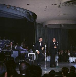 Frank Sinatra, Dean Martin and Sammy Davis Jr. performingcirca 1960 © 1978 Ted Allan - Image 0337_2592