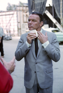 """Frank Sinatra during the making of """"Come Blow Your Horn""""1962 © 1978 Ted Allan - Image 0337_2597"""