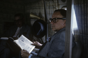 Frank Sinatra on a plane1962 © 1978 Ted Allan - Image 0337_2601