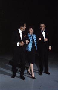 """The Judy Garland Show""Dean Martin, Judy Garland, Frank Sinatra 1962 © 1978 Bob Willoughby  - Image 0337_2614"