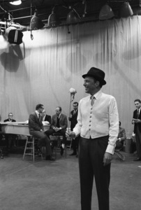 """The Judy Garland Show""Frank Sinatra 1962 © 1978 Bob Willoughby  - Image 0337_2623"