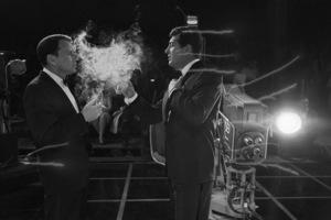 """The Judy Garland Show"" Dean Martin, Frank Sinatra 1962 © 1978 Bob Willoughby - Image 0337_2632"