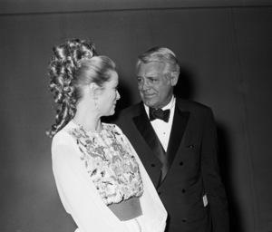 Grace Kelly and Cary Grant at Frank Sinatra