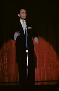 Frank Sinatra performing at the Sands Hotel in Las Vegas1957© 1978 Ken Whitmore - Image 0337_2671