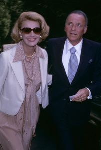 Frank Sinatra with wife Barbaracirca 1970s© 1978 Gary Lewis - Image 0337_2713