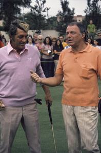Frank Sinatra and Dean Martincirca 1970s© 1978 Gary Lewis - Image 0337_2714