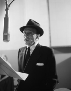 Frank Sinatra at a recording session circa 1950s** R.A.C. - Image 0337_2750