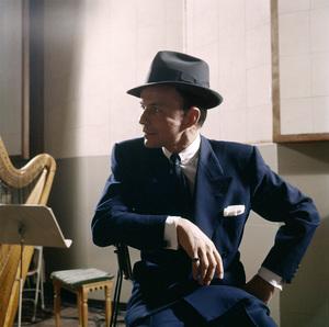Frank Sinatra at a recording sessioncirca 1953© 1978 Sid Avery - Image 0337_2752