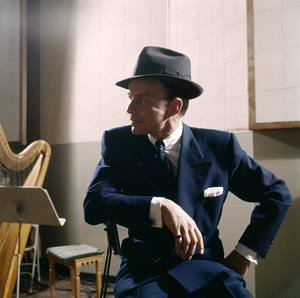 Frank Sinatra at a recording sessioncirca 1953© 1978 Sid Avery - Image 0337_2752