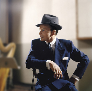 Frank Sinatra at a recording sessioncirca 1953© 1978 Sid Avery - Image 0337_2752a