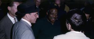 Frank Sinatra, Count Basie and Frank Sinatra Jr.1962© 1978 Ted Allan - Image 0337_2787