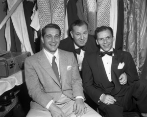 Frank Sinatra, Jack Entratter and Perry Como backstage at the Copacabana (nightclub)circa 1943© 1978 Barry Kramer - Image 0337_2850