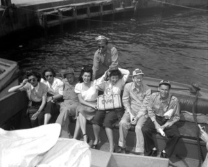 Frank Sinatra on a U.S.O. tour in Capri, Italy 1944 © 1978 Barry Kramer - Image 0337_2861