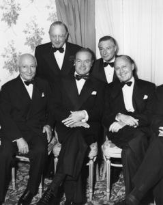 Adolph Zukor, Jesse L. Lasky, Bob Hope, George Jessel and Jack Bennycirca 1940s** A.H. - Image 0337_2872