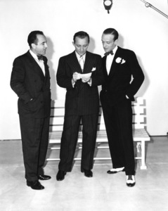 Johnny Burke, Bing Crosby and Fred Astairecirca 1940s** A.H. - Image 0337_2873