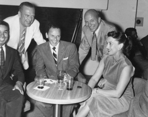 Frank Sinatra with Bobby Short and Jimmy Van Heusencirca 1950s** A.H. - Image 0337_2876