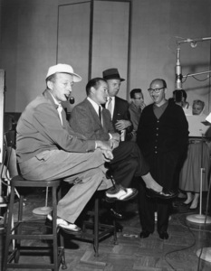 Bing Crosby, Bob Hope, Jimmy Van Heusen and Sammy Cahncirca 1950sPhoto by Gerald Smith** A.H. - Image 0337_2886