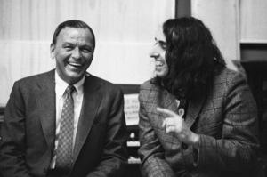 Frank Sinatra and Tiny Tim in the recording studio1968© 1978 Ed Thrasher - Image 0337_2911