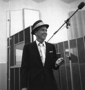 Frank Sinatra at a Capitol Records recording session1954 © 1978 Sid Avery - Image 0377_2367