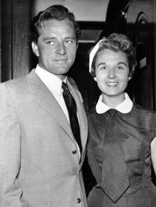 Richard Burton and his wife SybillBurton(Williams) in London 1962**I.V. - Image 0406_0536