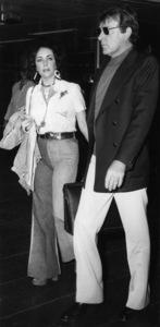 Elizabeth Taylor and her husband, Richard Burton, just can