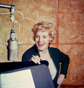 Rosemary ClooneyDuring A Recording Session At Capitol RecordsCirca 1957 © 1978Ted Allan - Image 0501_0064