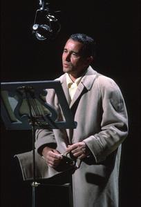 """Perry Como rehearsing for """"The Perry Como Show""""on NBC / Dec. 1962. © 1978 George E. Joseph. - Image 0505_0006"""