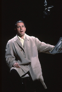 "Perry Como rehearsing for ""The Perry Como Show""on NBC / Dec. 1962. © 1978 George E. Joseph. - Image 0505_0007"