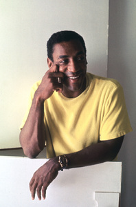 Bill Cosby at home in Hollywood1965© 1978 Ken Whitmore - Image 0506_0530