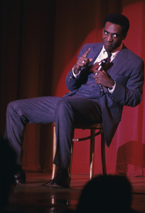 Bill Cosby performing on stagecirca 1969 © 1978 Ed Thrasher - Image 0506_0547