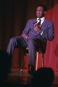 Bill Cosby performing on stagecirca 1969 © 1978 Ed Thrasher - Image 0506_0548