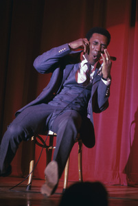 Bill Cosby performing on stagecirca 1969 © 1978 Ed Thrasher - Image 0506_0550