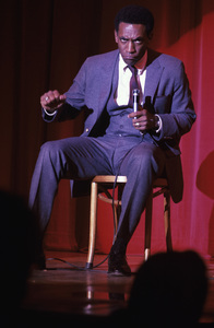 Bill Cosby performing on stagecirca 1969 © 1978 Ed Thrasher - Image 0506_0551
