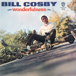 """""""Wonderfulness"""" (Album Cover)Bill Cosby1966Art Direction and Photography: Ed Thrasher - Image 0506_0569"""