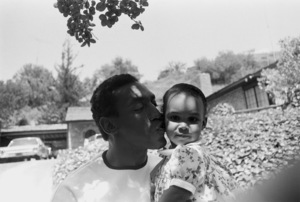 Bill Cosby at home with his daughter Erika1966 © 1978 Gunther - Image 0506_0574