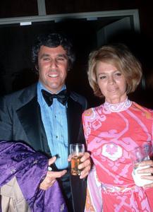 Angie Dickinson and Burt Bacharach circa 1974 © 1978 Gunther - Image 0512_0024