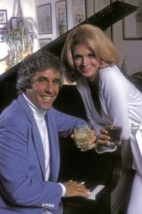 Angie Dickinson and Burt Bacharach at home1975 © 1978 Mario Casilli - Image 0512_0025