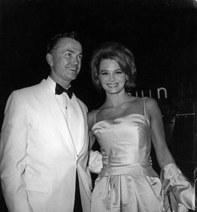 Angie Dickinson with agent Richard Claytoncirca 1950s - Image 0512_0068