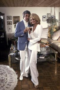 Angie Dickinson and Burt Bacharach at home1975 © 1978 Mario Casilli - Image 0512_0069