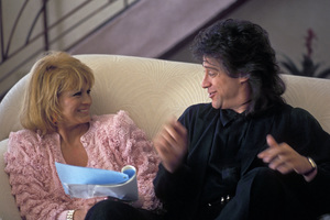Angie Dickinson and Richard Lewis1990 © 1990 Gunther - Image 0512_0071