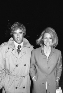 Burt Bacharach and Angie Dickinson out on the towncirca 1970s© 1978 Gary Lewis - Image 0512_0093