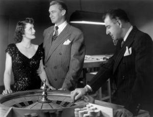 "Ellen Drew and Sonny Tufts in ""The Crooked Way""1949 United Artists** I.V. / J.J. - Image 0515_0011"