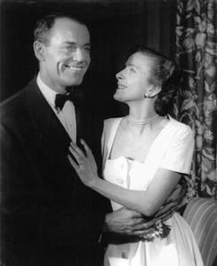 "Hendry Fonda, Leora DanaFilm Set""Point Of No Return"" 1951Copyright John Swope Trust / MPTV - Image 0518_0854"