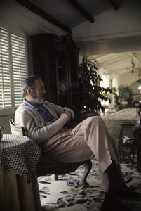 Henry Fonda at home  1969 © 1978 Gene Trindl - Image 0518_0878