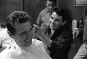 Jay Sebring and Duane Eddycirca 1960s** J.C.C. - Image 0518_0905